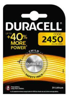 Duracell Electronics CR2450 Lithium batteri, 1 stk.