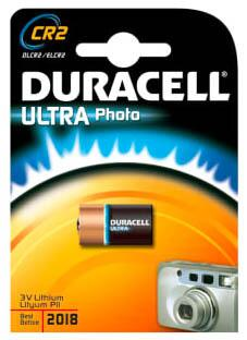Duracell Photo Ultra CR2 Lithium batteri, 1 stk.
