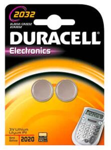 Duracell Electronics CR2032 Lithium batteri, 2 stk.